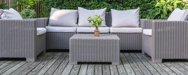 Accessoires pour votre salon de jardin