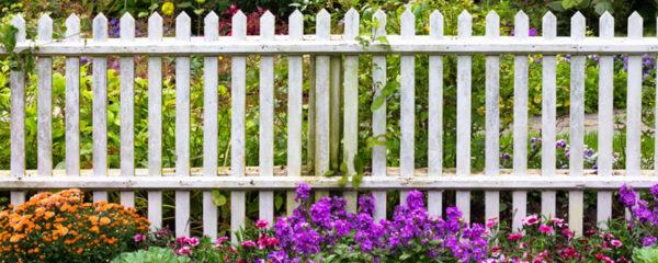 intimité grâce aux clôtures de jardin